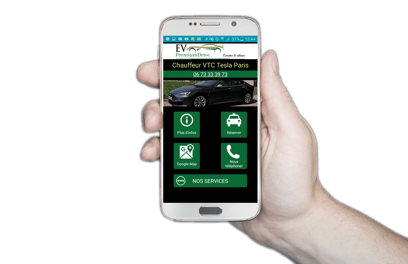 Application Android EV Premium Drive-min